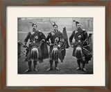 Bagpipers of the 1st Scots Guards