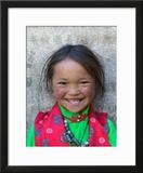 Young Tibetan Girl  Sakya Monastery  Tibet  China