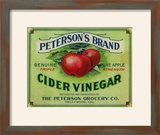 Hollywood  California - Peterson's Cider Vinegar Label