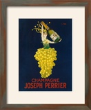France - Joseph Perrier Champagne Promotional Poster