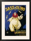 Italy - Sassolino Liquore da Dessert Promotional Poster