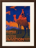 Cairo  Egypt - French Airline Promotional Poster