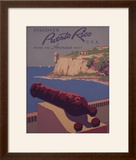 Puerto Rico  USA - Travel Promotional Poster