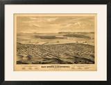 San Diego  California - Panoramic Map