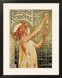 Brussels  Belgium - Robette Absinthe Advertisement Poster