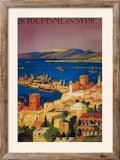 Syria - French Travel Poster  Touring in Syria