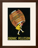 Cognac Pellisson Promotional Poster - France