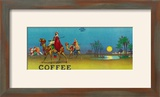 Desert Scene Coffee Label