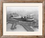 Pan American China Clipper and San Francisco Skyline Photograph No1 - San Francisco  CA