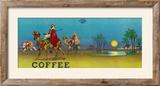 Desert Scene Coffee Label