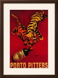 Porto Pitters Vintage Poster - Europe