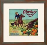Cowboy Orange Label - Tustin  CA