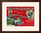 Giuseppe Garibaldi Macaroni Label - Philadelphia  PA
