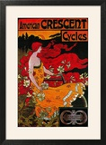 American Crescent Vintage Poster - Europe