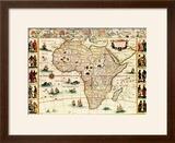 Africa - Panoramic Map - Africa