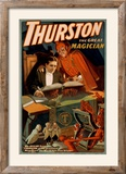 Thurston the Great Magician with Devil Magic Poster