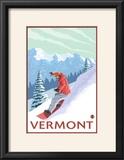 Vermont - Snowboarder Scene