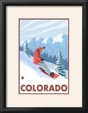 Snowboarder Scene - Colorado
