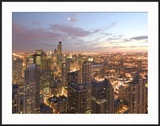 Aerial View of the Loop  Chicago  IL
