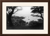 View of Monterey Bay from 17 Mile Drive - Carmel  CA