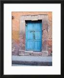 Old Blue Door  San Miguel  Guanajuato State  Mexico
