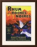 Rhum des Roches Noires Brand Rum Label