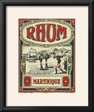 Rhum Martinique Brand Rum Label