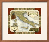 Wine Map of Italy