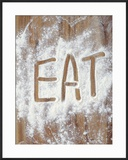 Word Eat in Flour
