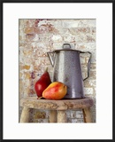 Still Life of Two Pears and a Coffee Pot