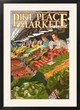 Pike Place Market Produce - Seattle  WA