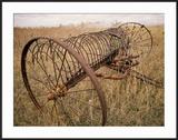 Old Hayrake & Teasle Near Preston  Cache Valley  Idaho  USA