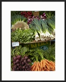 Vegetable Stall at Saturday Market  Salamanca Place  Hobart  Tasmania  Australia