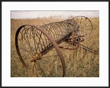 Old Hayrake & Teasle Near Preston  Cache Valley  Idaho  USA