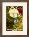 Letchworth State Park  New York - Grand Canyon of the East