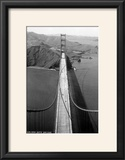 San Francisco  California - Golden Gate Bridge from Bridge Pinnacle