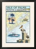 Isle of Palms  South Carolina - Nautical Chart