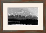 Alaska - View of Mt McKinley