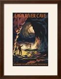 Lava River Cave - Lava Lands  Oregon