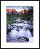 Stream Runs Through Lamoille Canyon in the Ruby Mountains  Nevada  Usa
