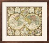 Antique World Globes