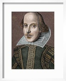 William Shakespeare (Stratford-On-Avon  1564-1616) English Writer