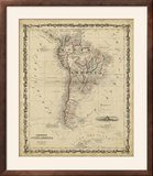 Johnson's Map of South America