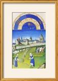 Le Tres Riches Heures Du Duc De Berry - June