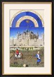 Le Tres Riches Heures Du Duc De Berry - October