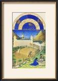 Le Tres Riches Heures Du Duc De Berry - July