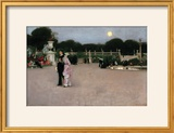 In the Luxembourg Gardens