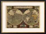 Vera Totius Expeditionis Nautica (World Map)
