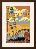 Santa Cruz  California - Beach Boardwalk