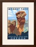 Monkey Face - Smith Rock State Park  Oregon